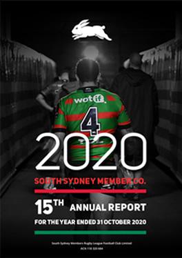 Sydney Rabbitos Annual Report Design